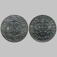 Польша 20 грош 1923 року