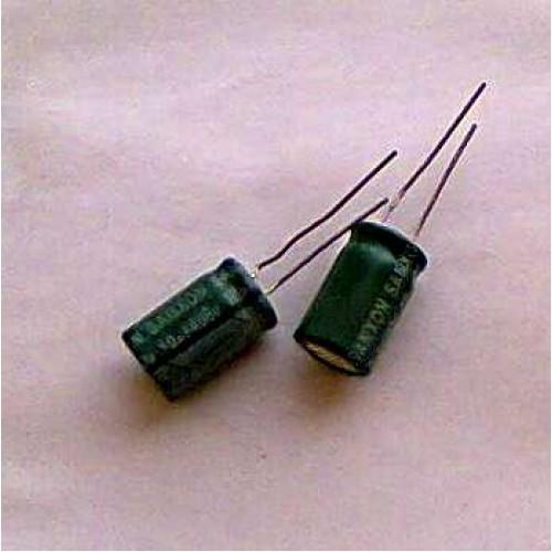 Конденсатор електролітичний 4,7 мкФ 400В