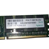 Модуль оперативної пам'яті Apacer, PC3200 512Mb