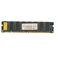 Модуль памяті PC100, 64mb SDRAM