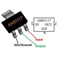 Мікросхема AMS1117-5.0 (DPAK)